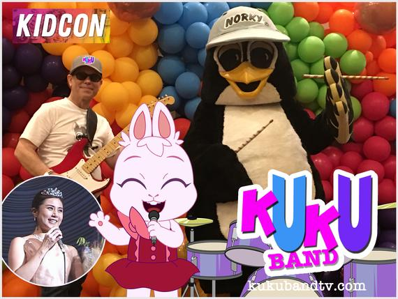 KUKU BAND NORKY DRUMS STAGE SHOW KIDCON